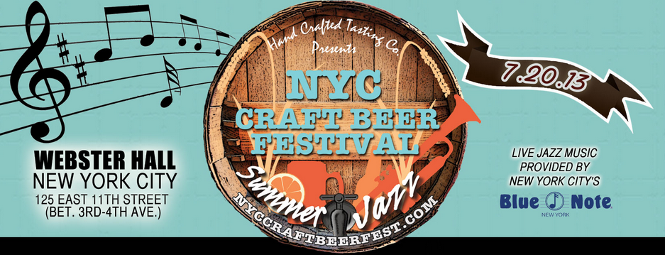NYC Craft Beer Festival – Summer Jazz