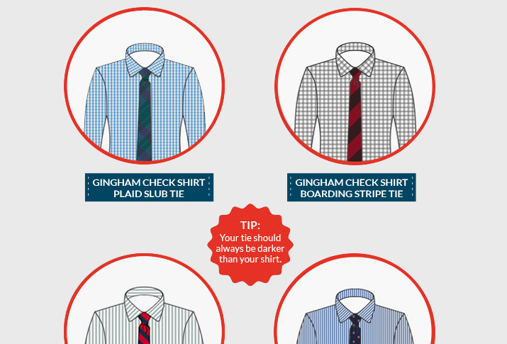 Style 101 How To Match Shirts And Ties
