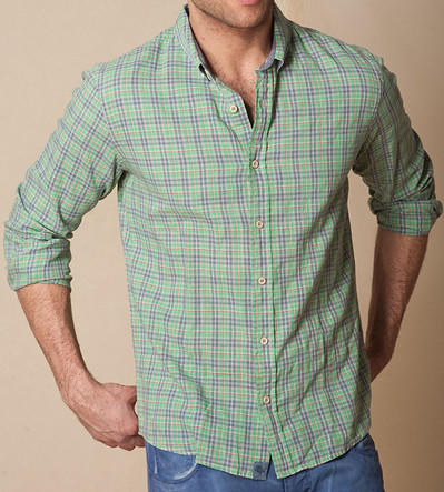 Jachs Lisbon Cotton Linen Shirt