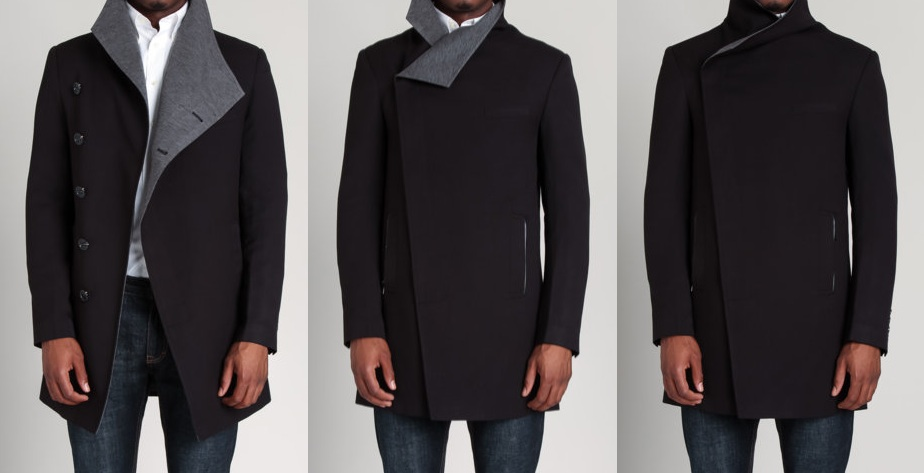 Twill Coat by EDGE by WD.NY