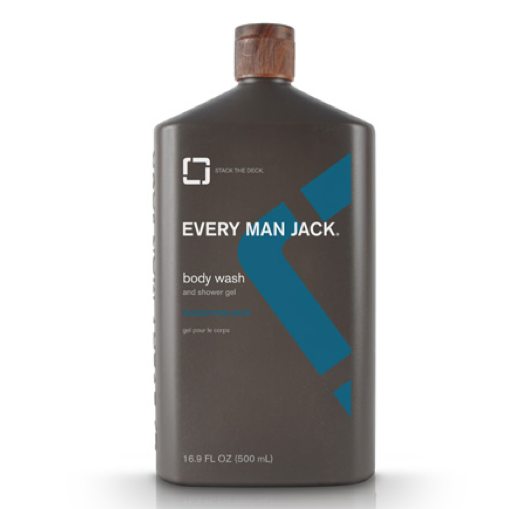 Every Man Jack Mint Body Wash