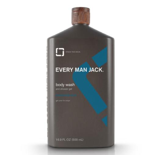 Every Man Jack Mint Body Wash
