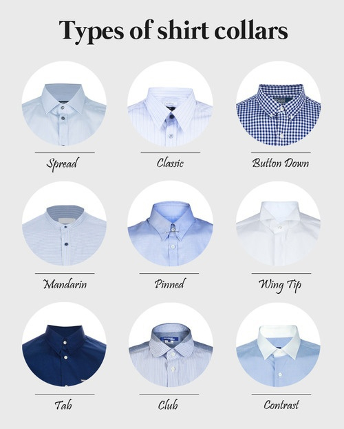 types-of-shirt-collars