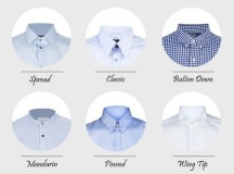 Style 101: Types of Shirt Collars