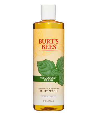 Burts Bees Peppermint & Rosemary Body Wash