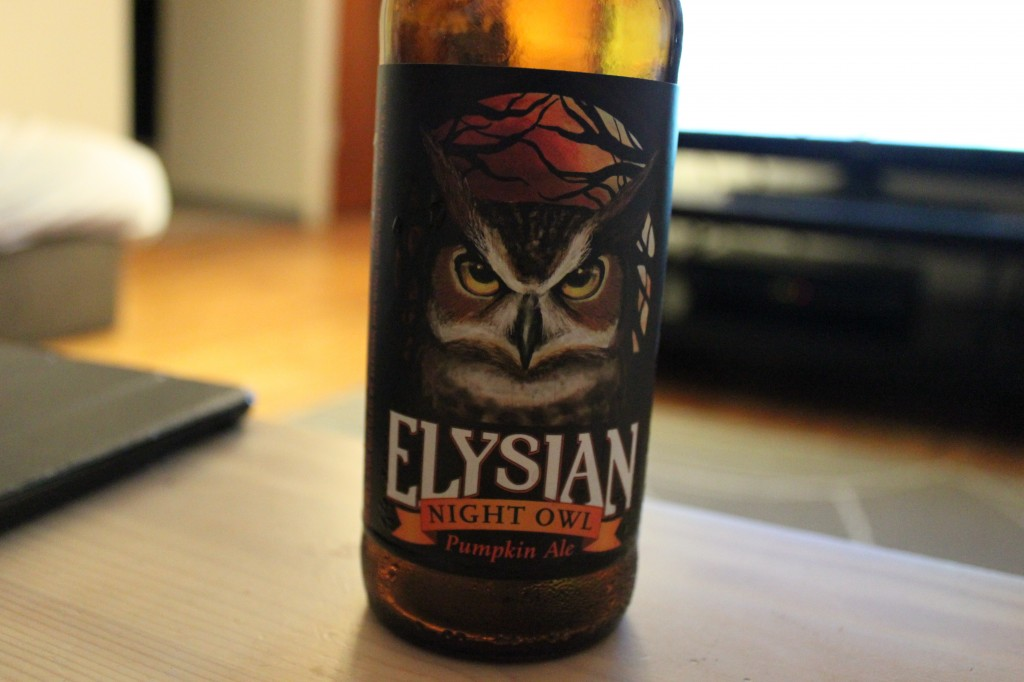 Elysian Night Owl Pumpkin Ale Review