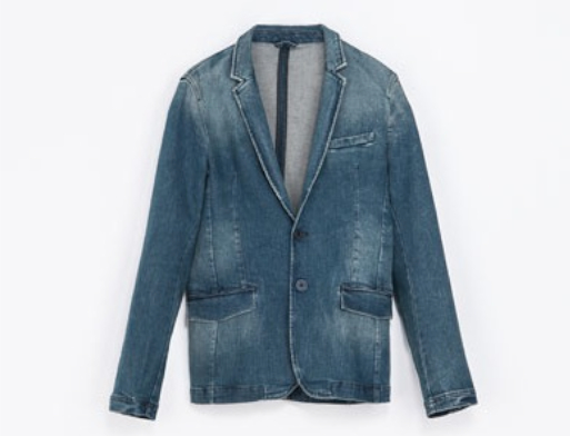 Zara.Denim.Blazer