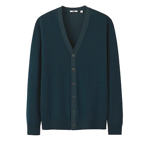 UNIQLO.ExtraFineMerinoCardigan