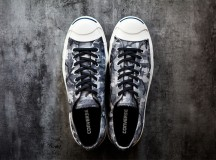 Jack Purcell Black + White Camo