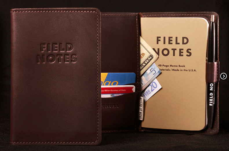 field.notes.leather