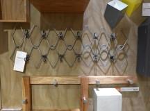 CB2 6 Hook Gauge Metal Coat Rack