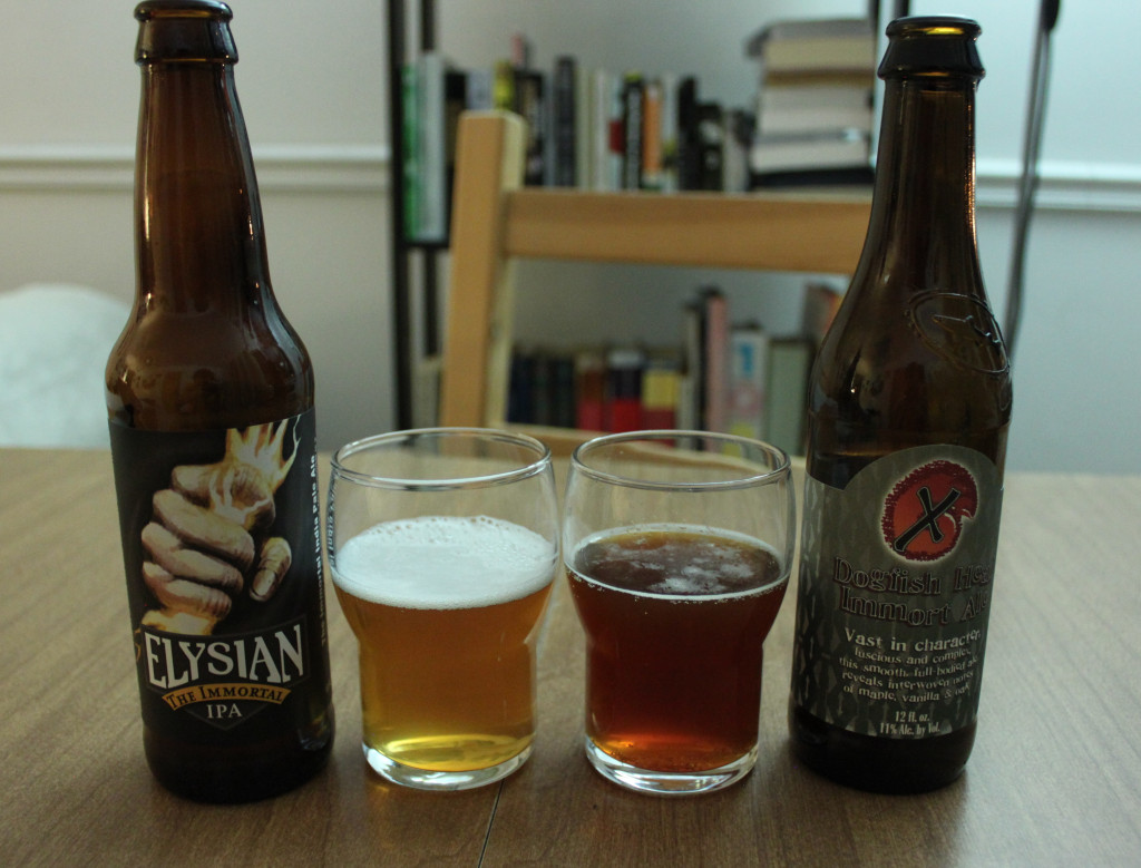 Dogfish Head and Elysian's Immortal Beers