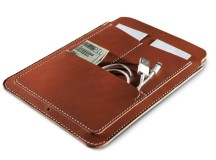 KILLSPENCER Tan Bridle Leather Pouch for iPad Mini