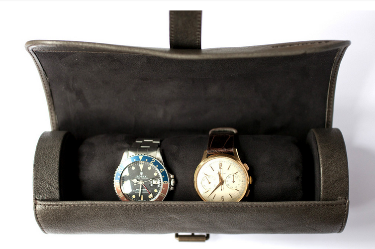 Hodinkee-Leather- Travel-Tube-Brown3