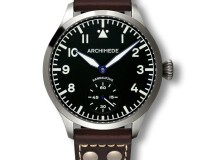 Archimede Pilot 45 Hand Wound Watch
