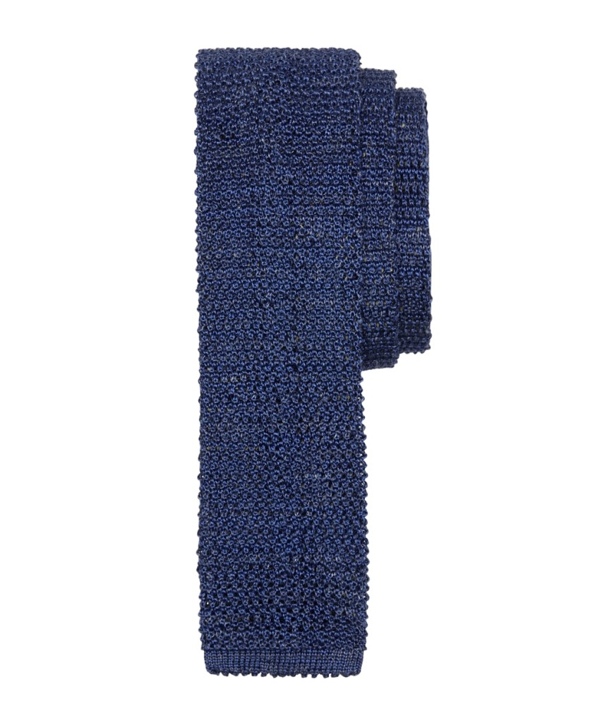 brooks-brothers-Solid-Heathered-Knit-Tie