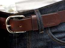 The Brown 30 Year Belt by Buck Mason