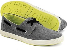 Sperry Cloud Logo Drifter 2-Eye Canvas Boat Shoes
