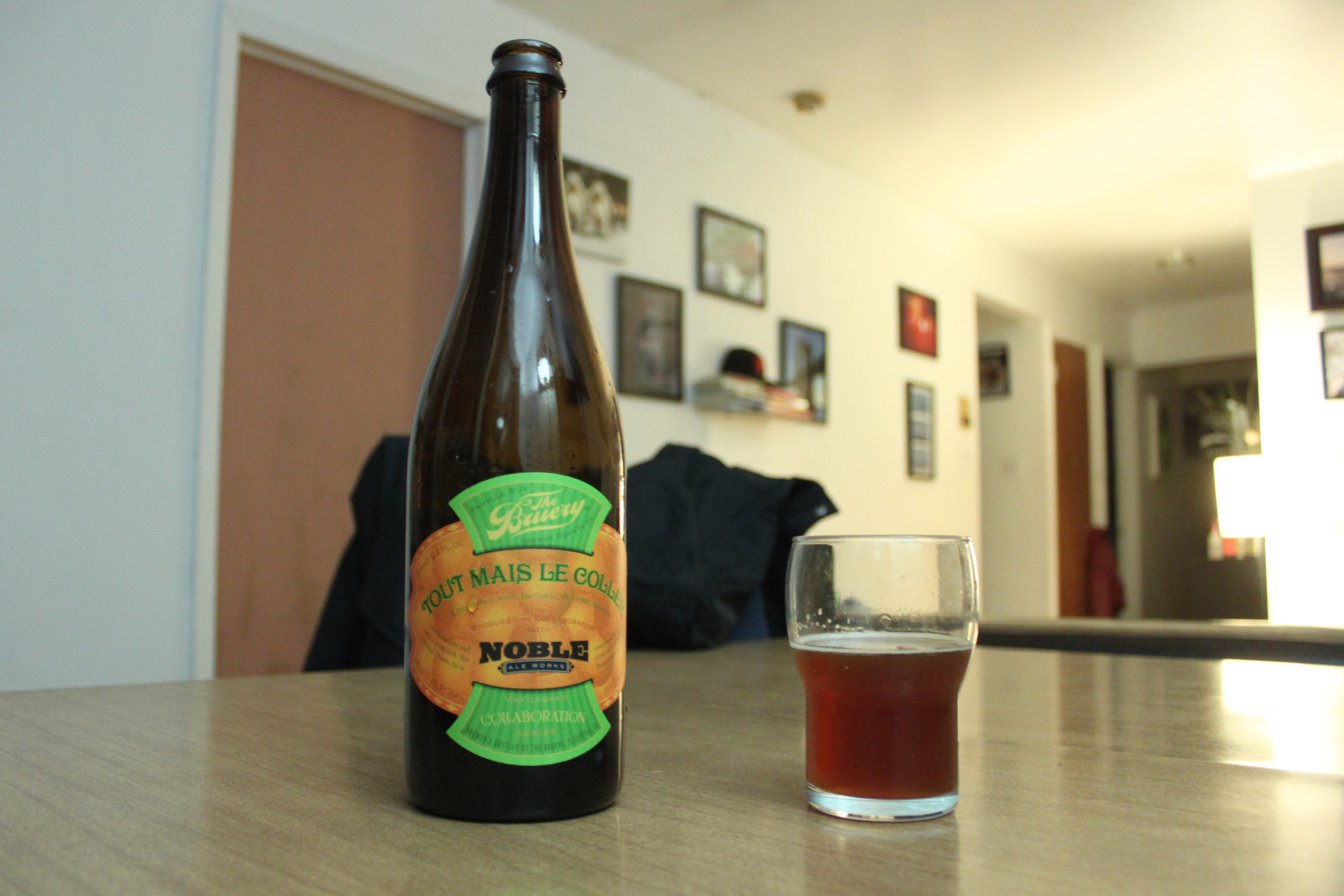 Tout Mais Le Coller by The Bruery Review