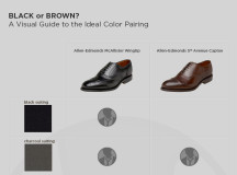 Style 101: How to pair black and brown shoes with the proper suit color