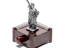 Dunhill Lady Liberty Silent Flame Table Lighter