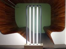 DIY Fluorescent Tube Floor Lamp