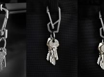HANDGREY Quick-Release Titanium Carabiner Keychain