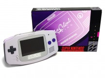 Rose Colored Gaming Custom SNES Game Boy Advance