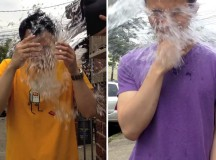 Dapper Guide does the #IceBucketChallenge for ALS