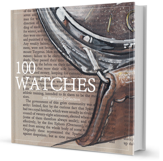 sunflowerman-100-watches-project-watch-book