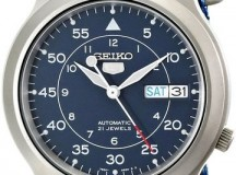 Seiko 5 Automatic Canvas Watch