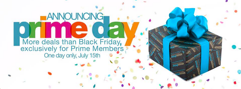 Happy Birthday Amazon! Prime Day – July 15th (Bigger than ...Amazon Prime Day