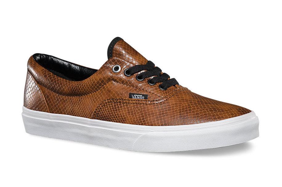 9c4702558b Vans Snakeskin Era Shoes
