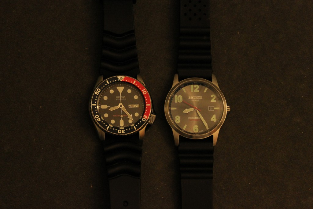Seiko-pepsi-diver-SKX009-watch-dark