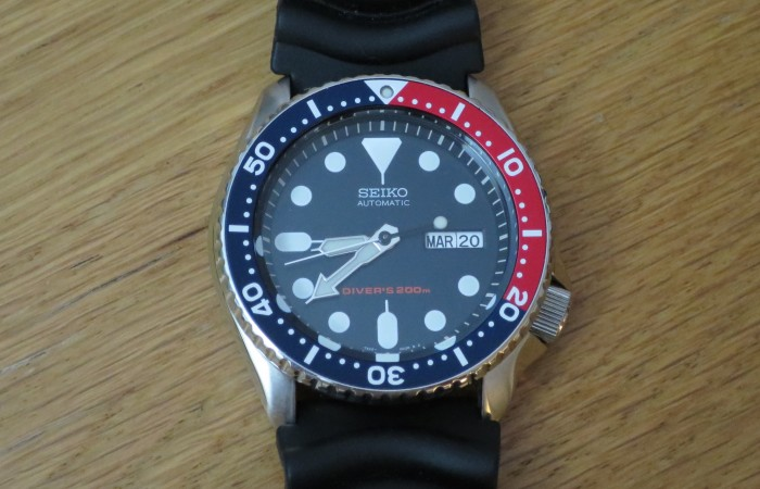 Seiko (Pepsi) Diver SKX009 Watch Review