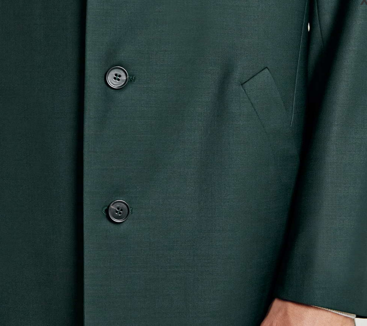 topman-Green-Duster-Suit-Jacket-up-close