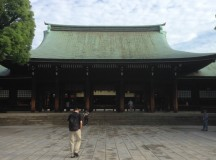 Meiji Jingu Before the Crowds