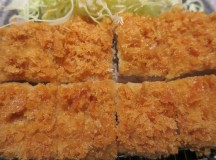 Finally…Eating Tonkatsu!