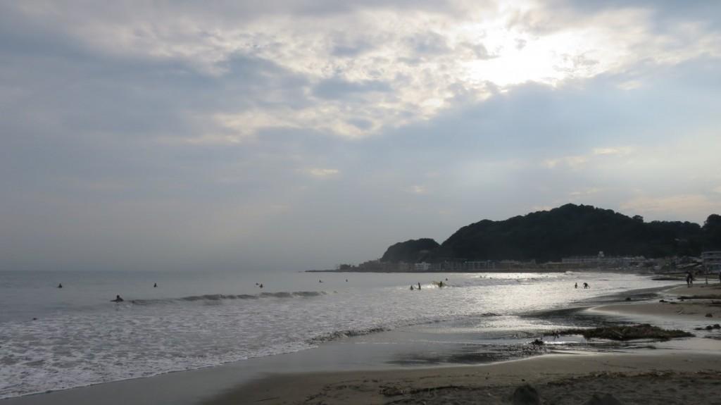 kamakura-beach-sun