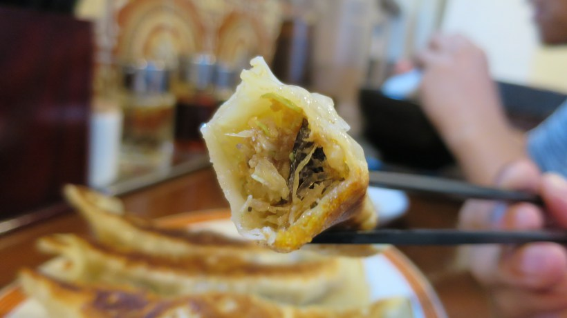 Giant Gyozas in Japan