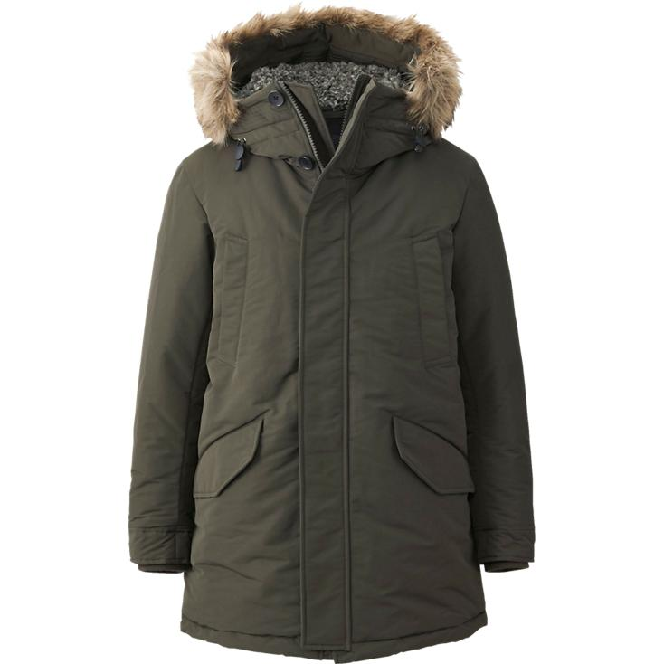 uniqlo-mens-warm-tech-down-coat-olive