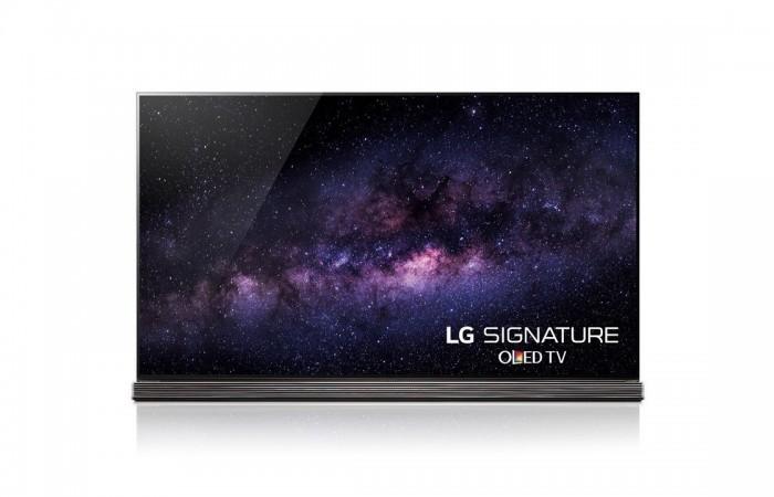 77-inch LG Signature OLED 4K TV